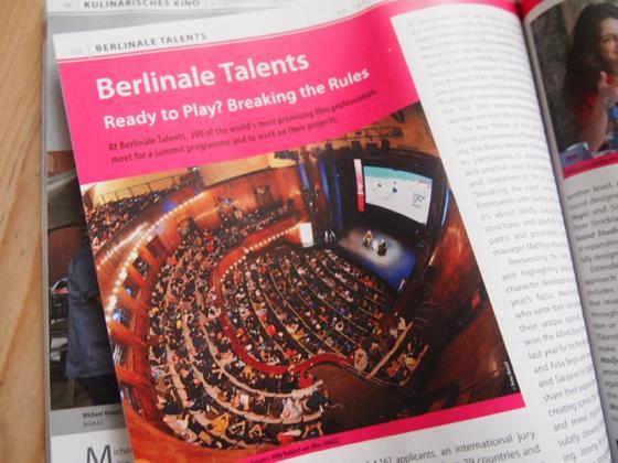 映画だけじゃない関係者の話が聞けるベルリン映画祭