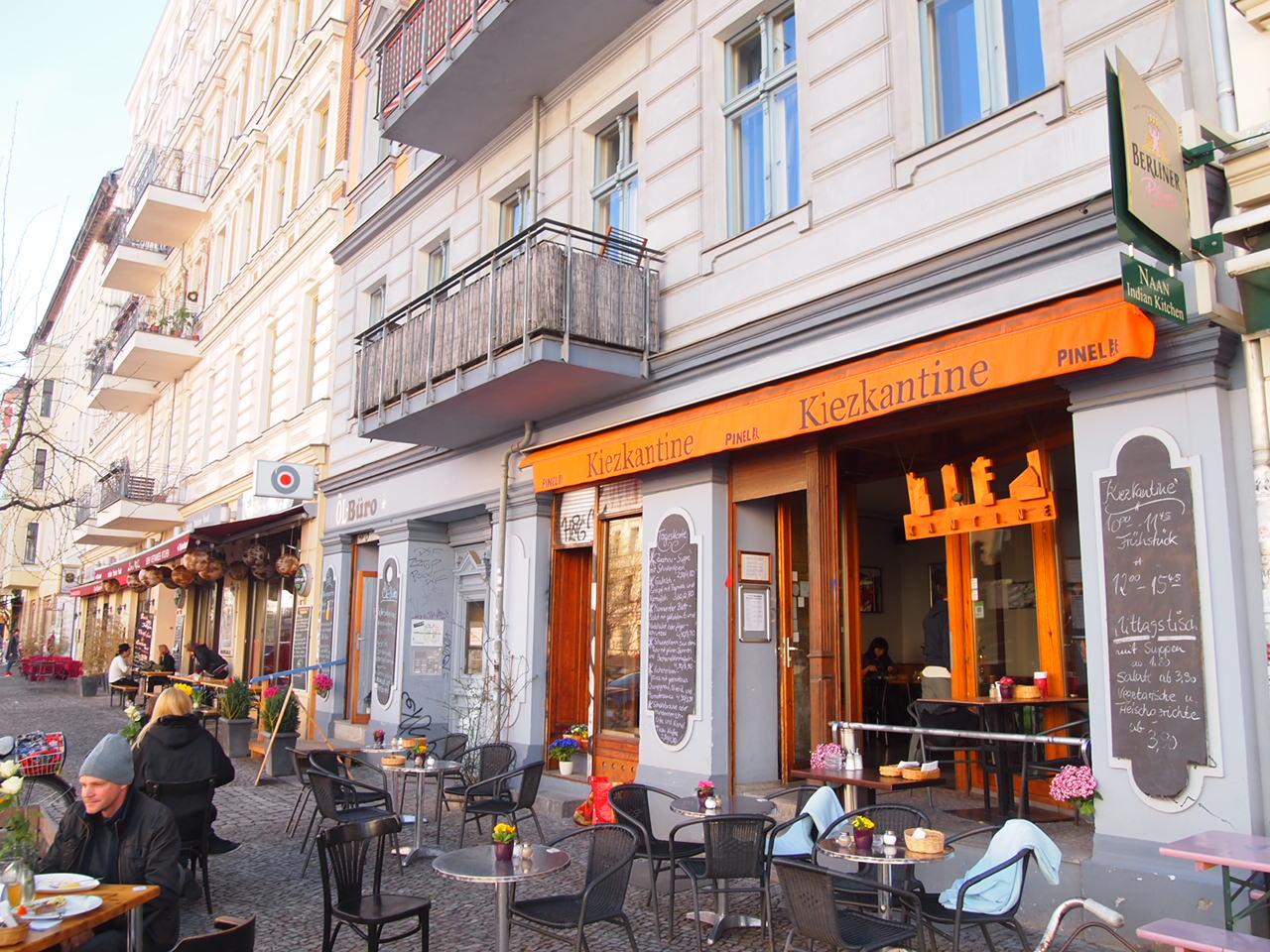 ベルリンのカフェにある学割ランチがスゴかった