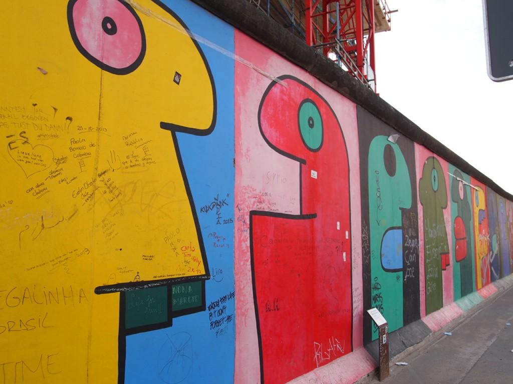 P3219850 1024x768 ベルリンの壁イーストサイドギャラリーにキスを見に行く
