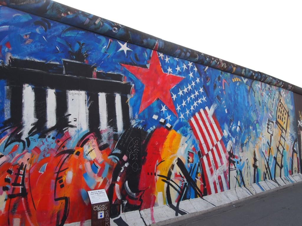 P3219862 1024x768 ベルリンの壁イーストサイドギャラリーにキスを見に行く