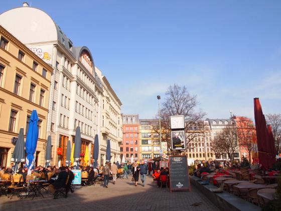 th P3016846 ベルリンのオシャレ観光スポット、ハッケシャーマルクトってどんな場所?