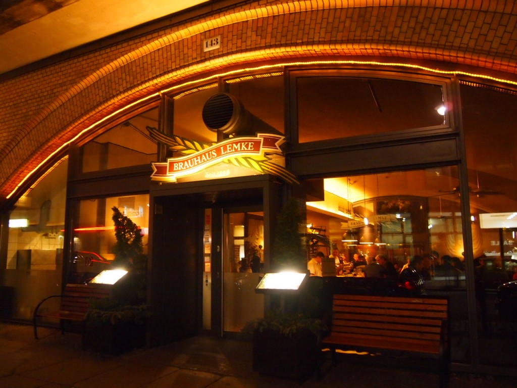 P3017269 1024x768 ベルリンの人気店レストランなら地元客で賑わうブラウハウスがおすすめ!