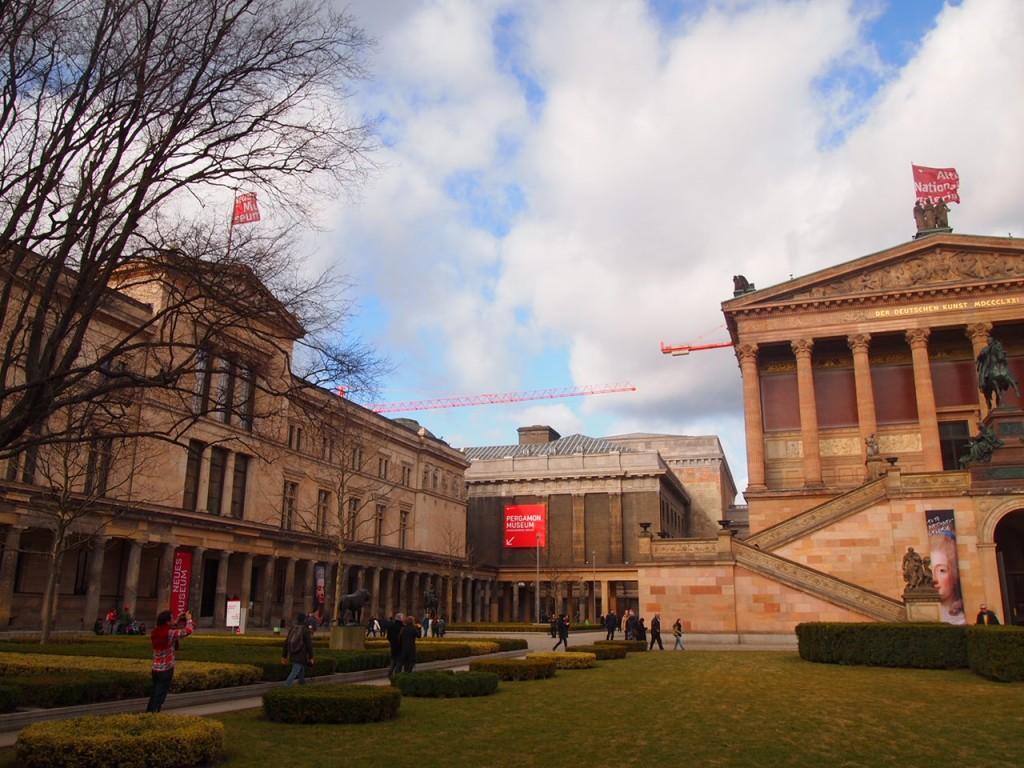 P2164345 1024x768 ベルリン観光で絵画を見るならここ!博物館島にある旧ナショナルギャラリー