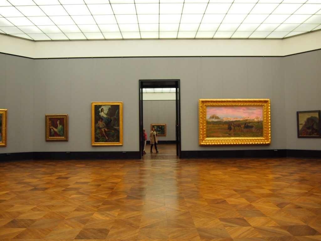 P3017215 1024x768 ベルリン観光で絵画を見るならここ!博物館島にある旧ナショナルギャラリー