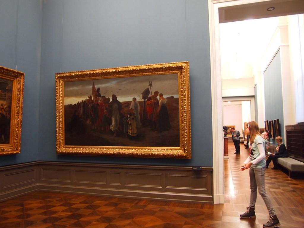 P3017226 1024x768 ベルリン観光で絵画を見るならここ!博物館島にある旧ナショナルギャラリー