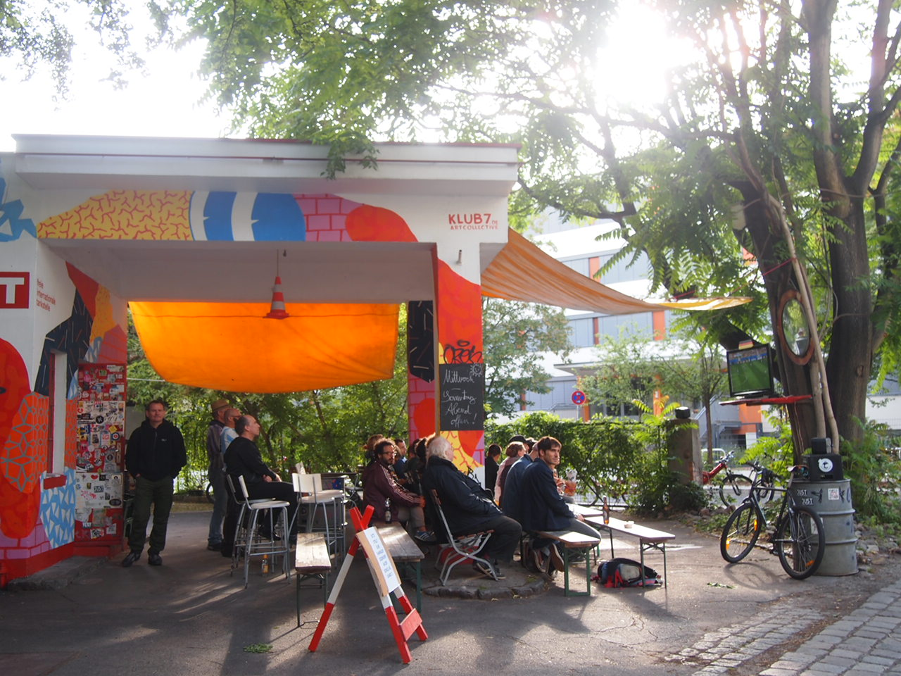P6306193 アートと自然の多いベルリンの街並み