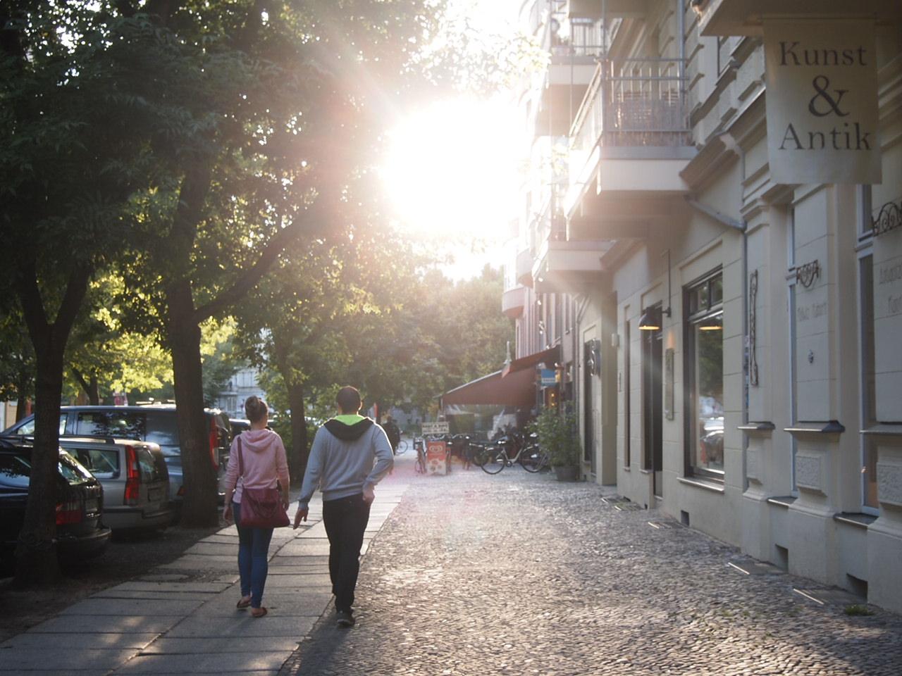 アートと自然の多いベルリンの街並み