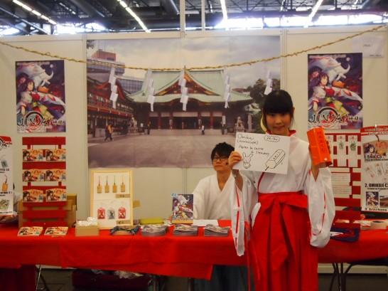 P7036754 546x409 ジャパンエキスポで出会った日本人たちはパリで何を出展しているのか?
