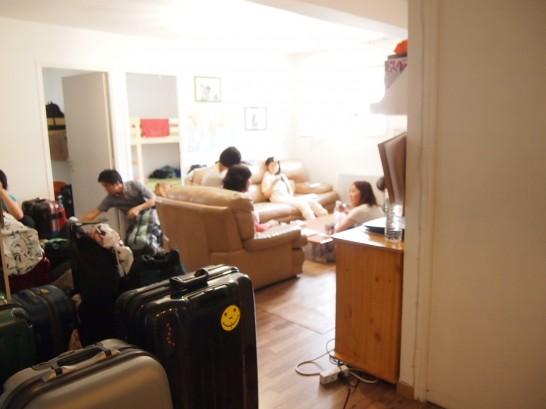 P7046949 546x409 密かな人気!?パリで泊まったある日本人ドミトリーが激安すぎて快適だった