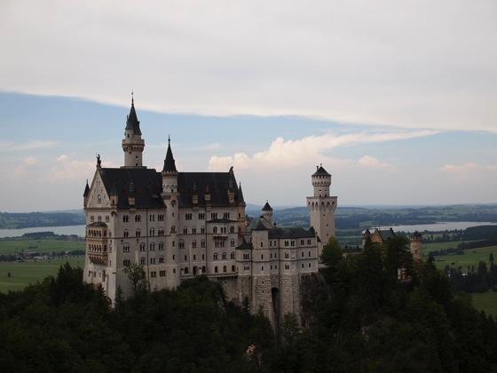 男だけでドイツ!ノイシュバンシュタイン城とヴィース教会を観光してみた!