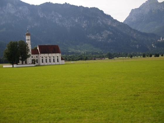 P7249807 男だけでドイツ!ノイシュバンシュタイン城とヴィース教会を観光してみた!
