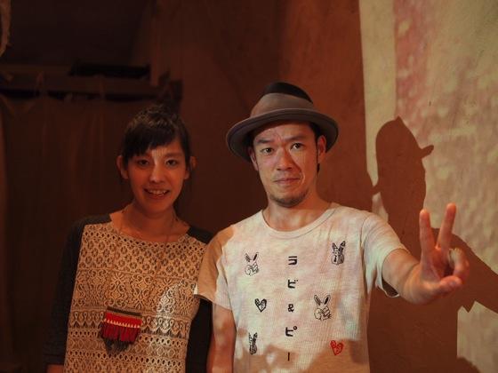 PB035879 usaginingen(ウサギニンゲン)来日!ドイツを拠点に活動する日本人アーティストのライブを訪問!