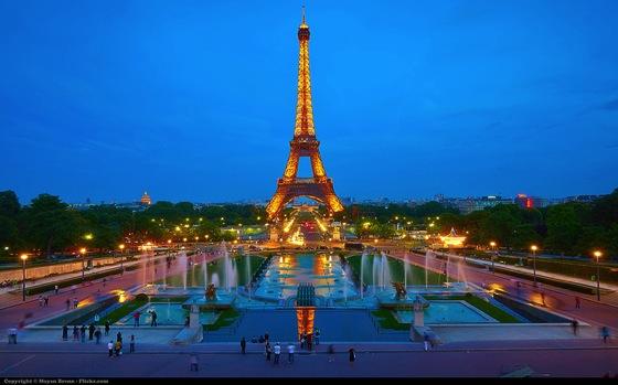 paris Moyan Brenn エッフェル塔にはテレビ塔!7つのパリ魅力をベルリンに変換すると…