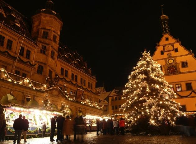 rothenburg xmas まるで妖精の街!ドイツ9都市のクリスマスマーケットが可愛く神秘的!