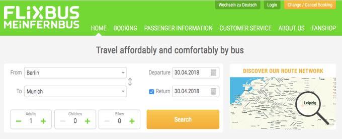 th FlixbusMeinfernbus 快適で便利!ドイツ旅行にはバスの利用が格安でおすすめ!