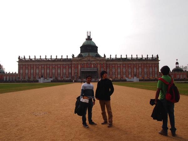 P4051122 インド人とベルリンから1日かけてポツダム旅行してみた結果……