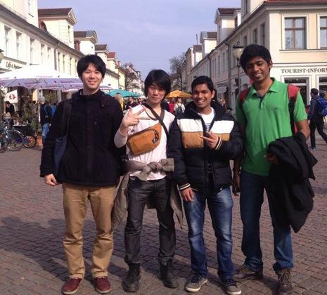 インド人とベルリンから1日かけてポツダム旅行してみた結果……