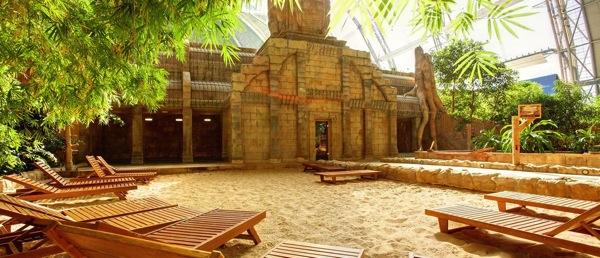 sauna landschaft1 ドイツのプール楽園すぎ!混浴温泉のある巨大プール「トロピカルアイランド」に行ってみた!