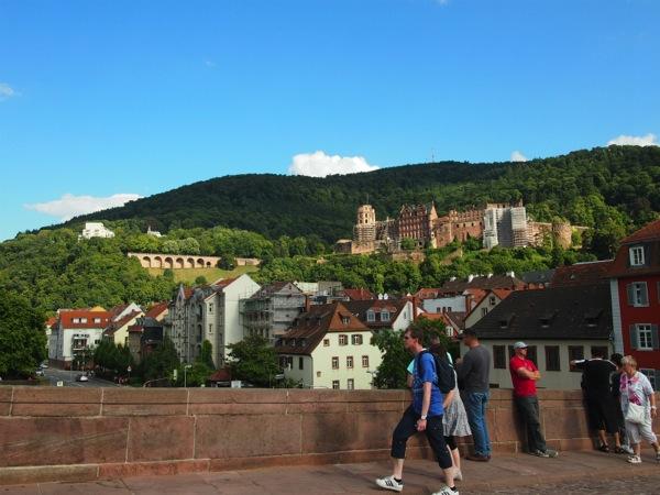 P1010053 城下街がメルヘンすぎる!南ドイツ旅行におすすめの街ハイデルベルク