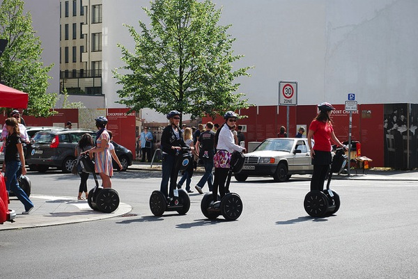 Segway Jacob Munk Stander ベルリン観光にはツアーが便利!少し変わった5つ観光ツアー!