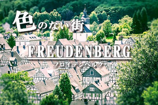 色がないのに絶景!ドイツ秘境にある街フロイデンベルクとは?