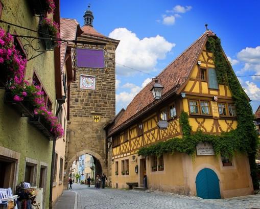 rothenburg 509x409 絶景だらけ!ドイツ・ロマンティック街道で絶対に行きたい7スポット!