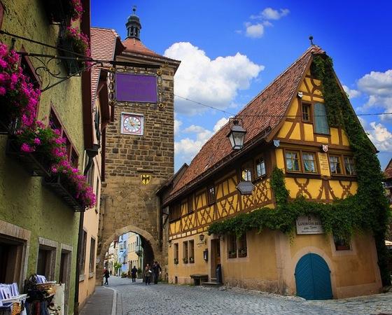 rothenburg of the deaf 823895 640 ドイツおすすめ観光地ベスト30…世界1番人気はネズミの国!