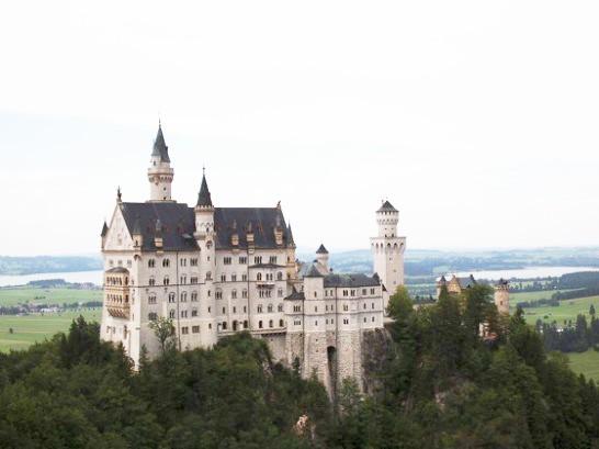 Neuschwanstein 546x409 初ドイツでベルリンからノイシュヴァンシュタインを1週間で観光した話