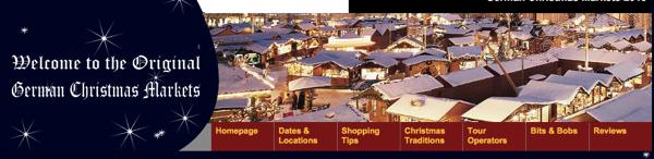 german christmas market ドイツ・クリスマスマーケットの場所がすぐ分かる!クリスマスマップが便利!