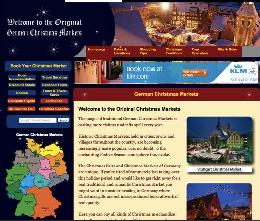 toppage ドイツ・クリスマスマーケットの場所がすぐ分かる!クリスマスマップが便利!