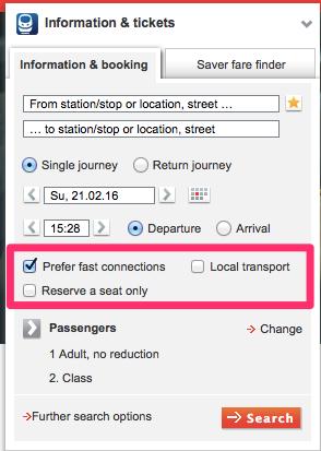 DB preferfast 日本から予約可能!DBドイツ鉄道の切符をネットで購入する方法