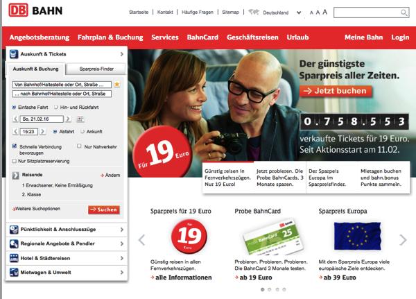 DBtop 日本から予約可能!DBドイツ鉄道の切符をネットで購入する方法