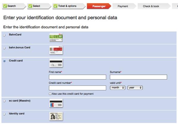 db creditcard 日本から予約可能!DBドイツ鉄道の切符をネットで購入する方法