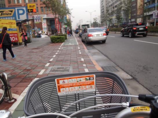 P3171961 546x409 簡単に解説!台北で自転車(レンタサイクル)を借りる方法