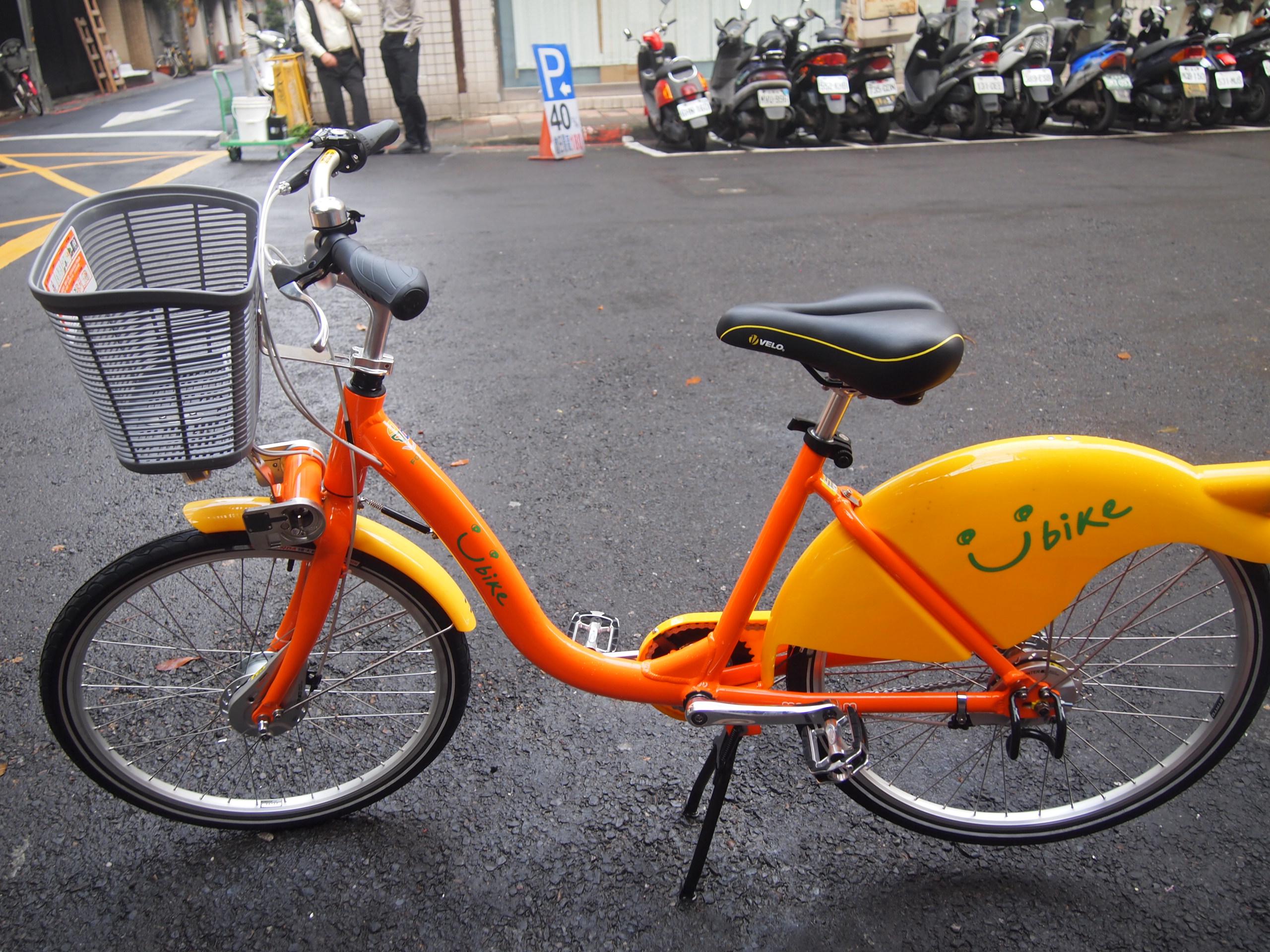 簡単に解説!台北で自転車(レンタサイクル)を借りる方法