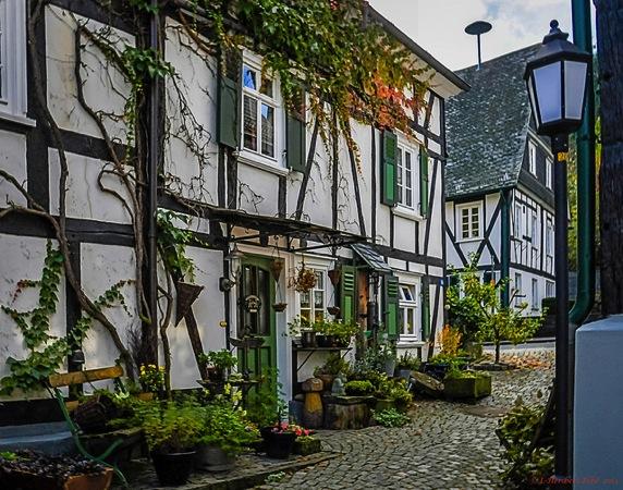 freudenburg house 色がないのに絶景!ドイツ秘境にある街フロイデンベルクとは?