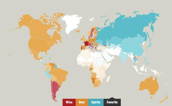 worlddrinkingmap 未成年もビールが飲める?ドイツで飲酒できるのは何歳から?世界のお酒事情