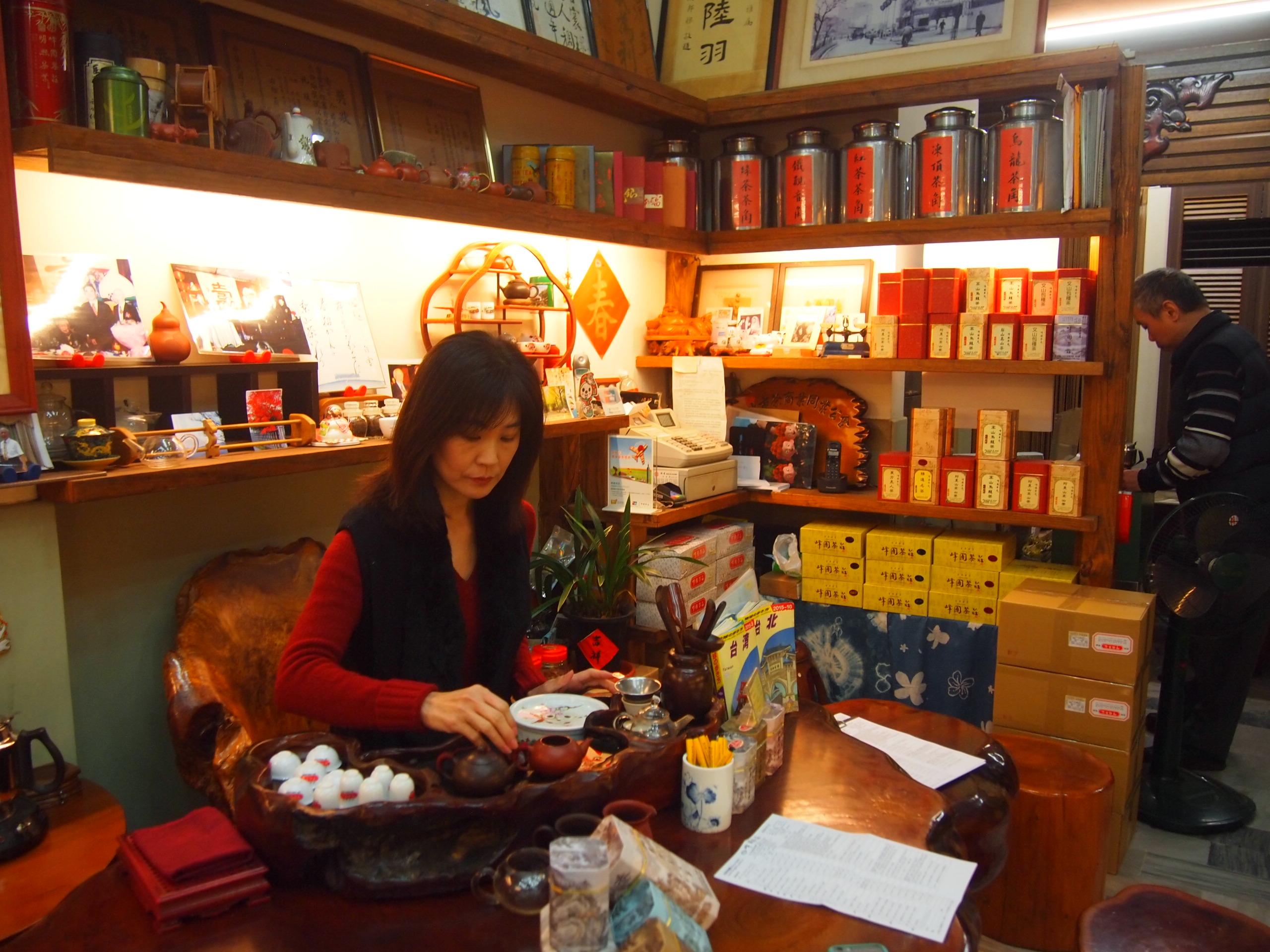 台北駅から徒歩6分で日本語OK!お茶を買うなら峰圃茶荘がおすすめ!