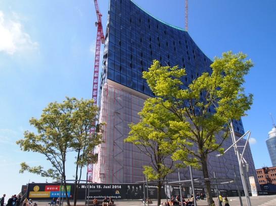 P5314656 546x409 銀色に輝く水上コンサートホールがドイツ・ハンブルクに登場!