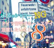 夜シャワーNG!ドイツ留学のホームステイで注意したい8つのこと