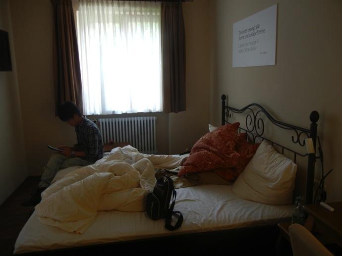 DSCN5793 フュッセンでオススメしたいホテル!森のペンションみたいに可愛い宿に泊まってみた!