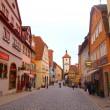 ローテンブルクの街並