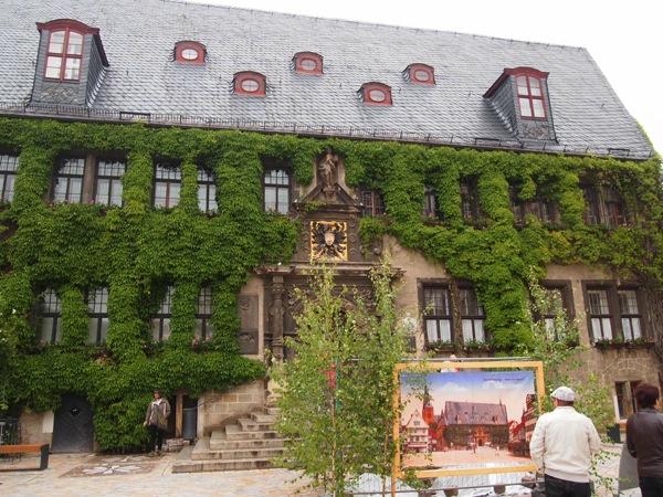 P5293834 空中庭園!?ドイツの世界遺産クヴェードリンブルクに行ってみた!