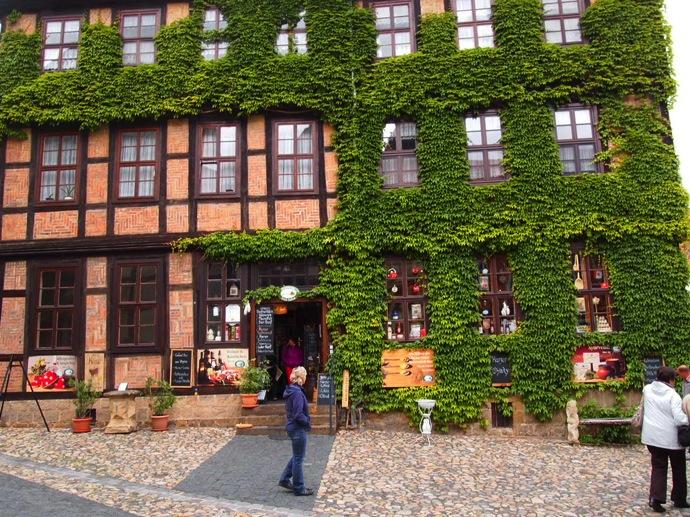 P5293888 空中庭園!?ドイツの世界遺産クヴェードリンブルクに行ってみた!