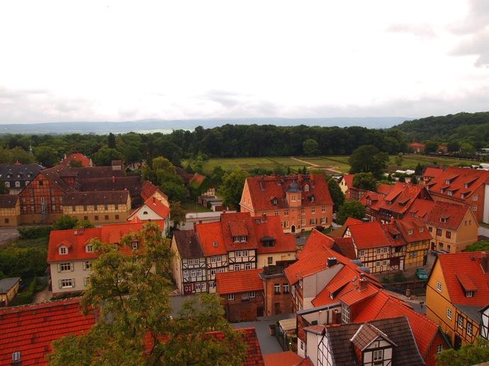 P5293910 空中庭園!?ドイツの世界遺産クヴェードリンブルクに行ってみた!
