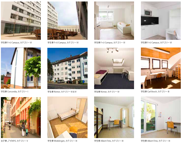 Fuu Heidelberg Room 【F+U academy of languages】Heidelberg校の宿泊施設に関して