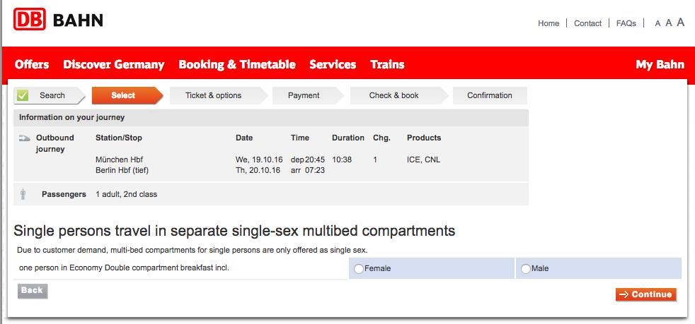 NightLIne2 旅行に便利!ドイツの夜行列車をネットから予約する方法!