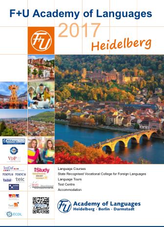 heidelberg pamphlet 【F+U academy of languages】Heidelberg校の授業に関して