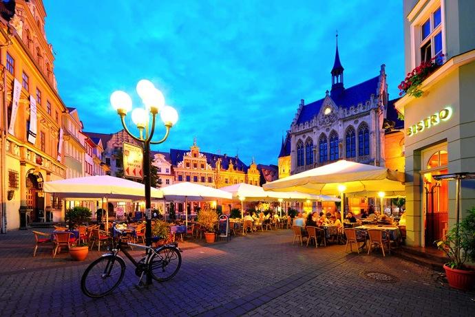 Erfurt 2016年ドイツ総選挙!ドイツのおすすめ観光地ベスト100決定!