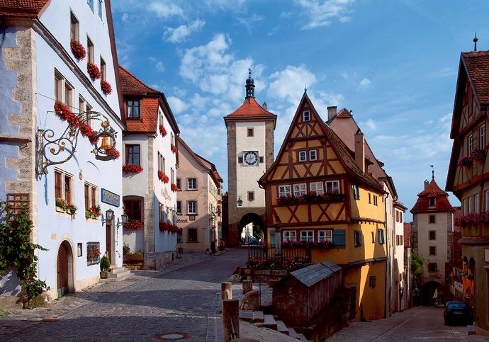 Rothenburg Ploenlein RET 2016年ドイツ総選挙!ドイツのおすすめ観光地ベスト100決定!